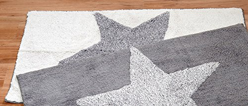 Bloominghome Teppich Laufer Badteppich Stern 100 Baumwolle 120 X 70