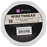 Prima Marketing Wire Thread, 25-Yard, Lime Green