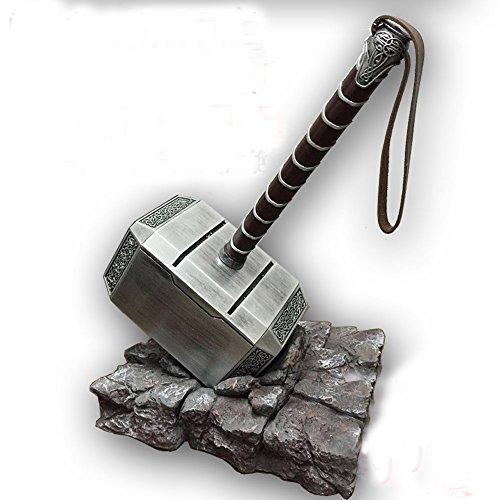 Gmasking 2016 Resin Mjolnir Thor's Cosplay Hammer 1:1 Props