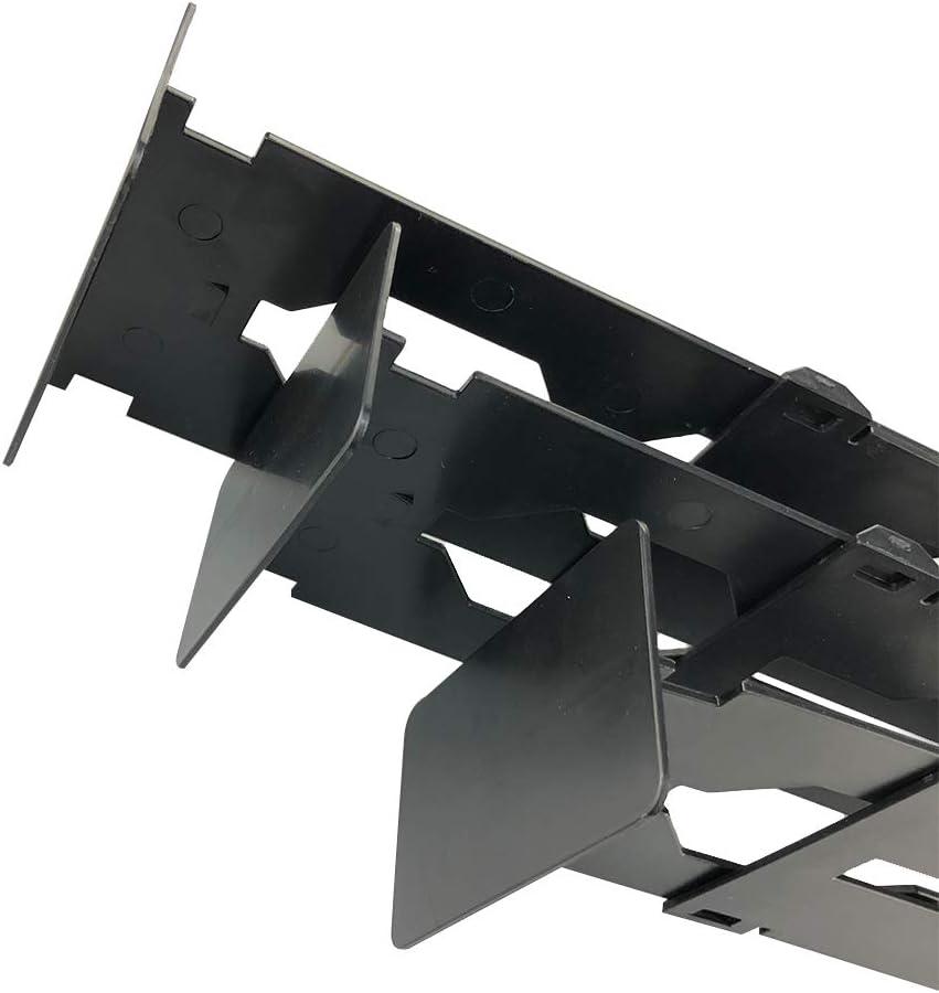 tiroir de Salle de Bain et Bureau Chambre /à Coucher Commode HEFUTE Lot de 4 s/éparateurs de tiroir pour Cuisine Bureau Armoire