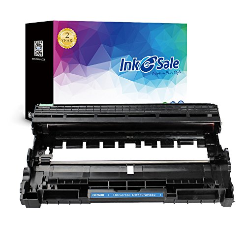 INK E-SALE Compatible Toner Cartridge Replacement for Brother DR630 (Black, 1-Pack),use for Brother HL-L2300D HL-L2340DW MFC-L2700DW HL-L2380DW HL-L2320D HL-L2360DW MFC-L2720DW MFC-L2740DW DCP-L2520DW