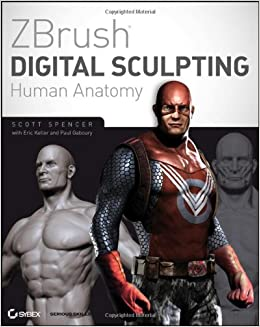Book ZBrush Digital Sculpting Human Anatomy