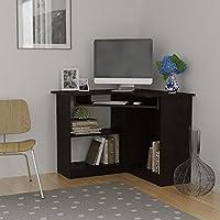 Home Corner Computer Desk | Small Corner Computer Desk | Desktop | Student | Espresso