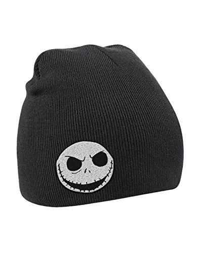 The Nightmare Before Christmas Beanie Hat Skull Logo
