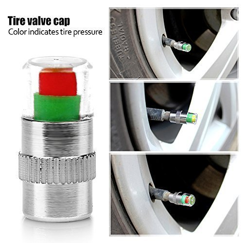 All Venture Tire Pressure Valve Cap 2 Pack(8 Caps)