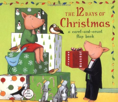 The 12 Days of Christmas: A Carol-and-Count Flap Book (Domain Stories Christmas Public Children's)