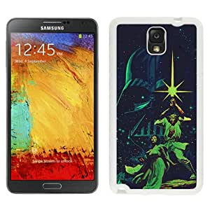 Hot Sale And Popular Samsung Galaxy Note 3 Case Designed With Star Wars Alternative Poster White Samsung Note 3 Phone Case