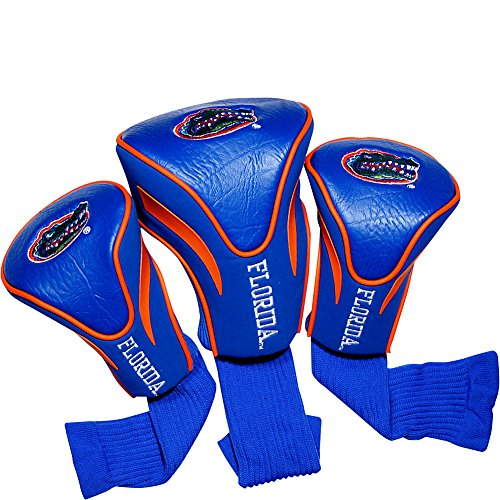 Nylon Florida Golf Gators - Team Golf USA University of Florida Gators 3 Pack Contour Headcover (Team Color)