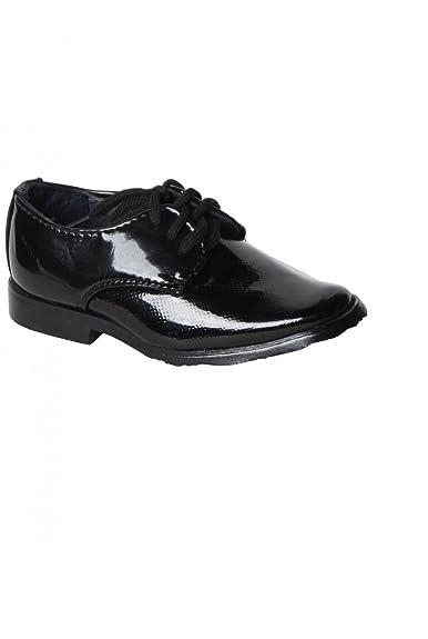 a48640a1141bd Dymastyle Chaussure Bébé Derby Cérémonie Coloris Noir Motif Original - Noir  - P-19