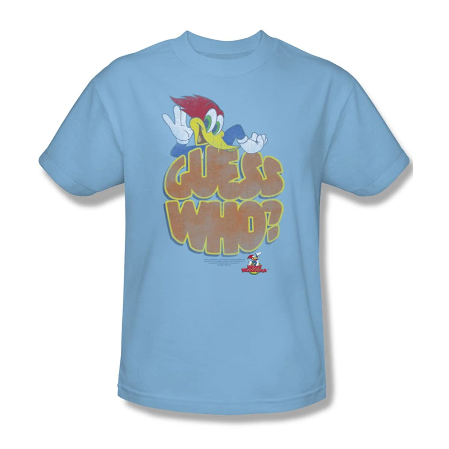 Woody Woodpecker - Mens Guess Who T-Shirt