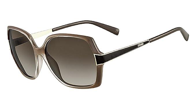 Amazon.com: Fendi anteojos de sol & Free Caso FS 5330 902 ...