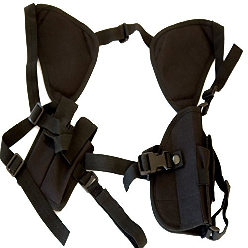 Best Concealed Carry Shoulder Holster - Works Great for 1911, Revolvers, Pistols, & Hand Guns - Universal Fit for Glock, Springfield, Taurus, MTAC, Kimber, Walther,Beretta, Ruger, Colt, & All - Stores Springfield Mall
