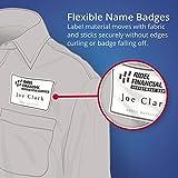 Avery 8395 Laser/Inkjet Name Badges,2-1/3-Inch