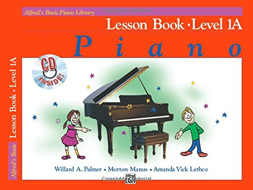 Alfred's Basic Piano Library Lesson Book, Bk 1A: Book & CD -