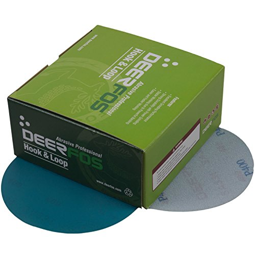 """6"""" Sanding Discs On Clearance by Deerfos Abrasives 50-Count"""