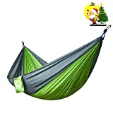 Double-and-Single-Camping-Hammocks-Ultralight-Portable-Nylon-Parachute-Multifunctional-Hammocks-for-Light-Travel-Camping-Hiking-Backpacking-Mats-Swing-Carpet-Apriller