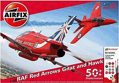 Airfix 1:48 Scale Red Arrows 50th Display Season Gift -