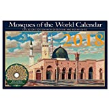 2018 Mosque Around the World Islamic Calendar Gregorian and Hijra Dates includes a full Quran MP3 Audio CD