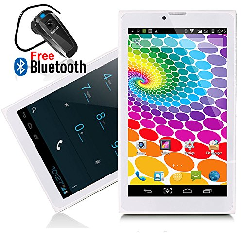 Indigi Phablet 2-in-1 SmartPhone 3G + WiFi Tablet PC 7' LCD Android 4.4 -...