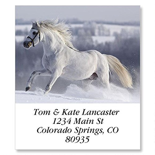 for Horse Lovers Self-Adhesive, Flat-Sheet Select Address Labels (12 - Lovers Label