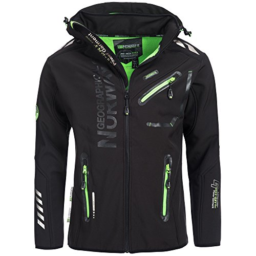 Geographical Norway – Softshell Geographical Norway Rainman Noir