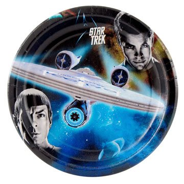 Star Trek Small Paper Plates (8ct)