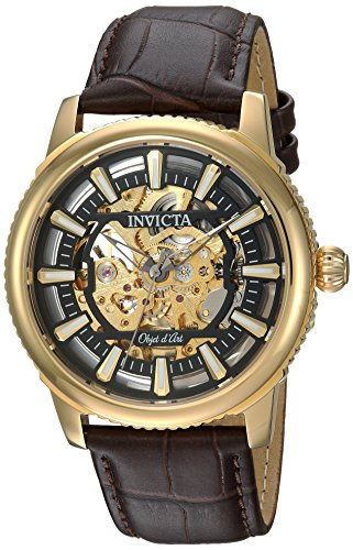 Invicta Automatic Stainless Leather Casual product image