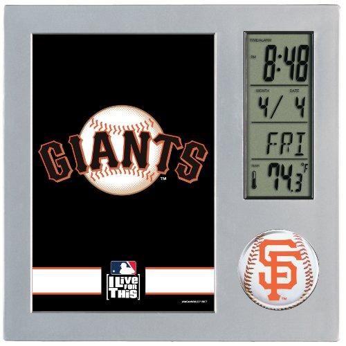 MLB San Francisco Giants Digital Desk Clock