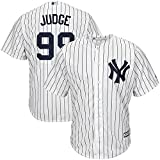 Outerstuff Aaron Judge #99 York Yankees MLB Majestic Youth White Pinstripe Replica Jersey