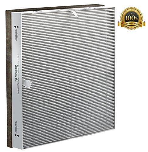 Flintar MD1-0030 True HEPA Replacement Filter, Compatible with Vornado Baby Purio Nursery Air Purifier, Part # MD1-0030 True HEPA Filter