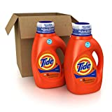 Image of Tide Original Scent HE Turbo Clean Liquid Laundry Detergent, 50 Fl Oz (32 Loads), 2 Count (Packaging May Vary)