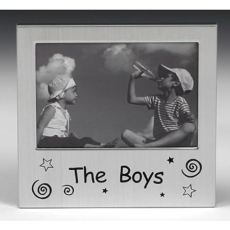 Joe Davis Satin Silver The Boys Family Party Photo Picture Frame