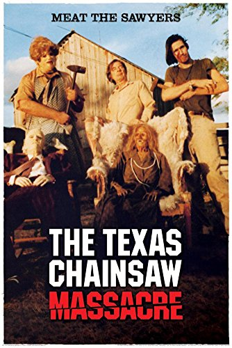 Texas Chainsaw Massacre - Meet The Sawyers Poster 24 x 36in (Horror Classics Poster)