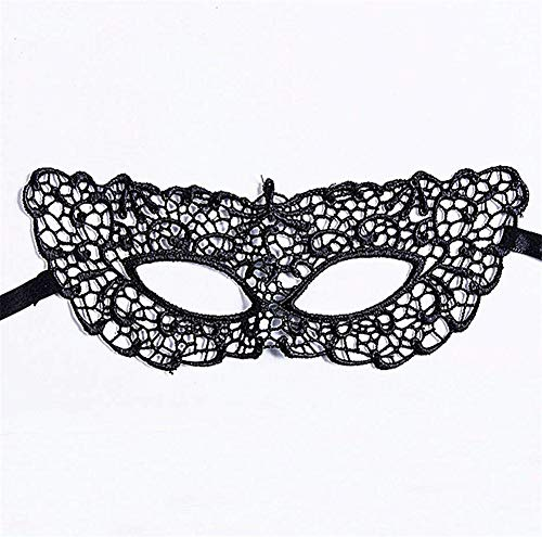 Women Lace Eye Face Mask Catwoman Masquerade Dancing Evening Party Cat Halloween Fancy Dress Costume -