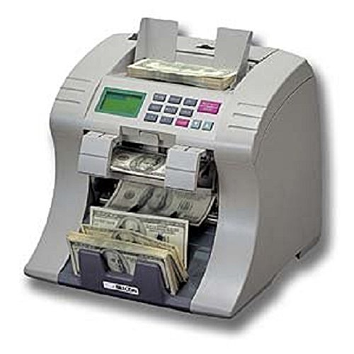 Billcon D-551 Mixed Bill Currency Money Value Counter and Sorter-Multiple Currency Discriminating Counter and Counterfeit Bill Detector, Bank Grade Mixed Denomination Bill Counter