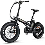 Addmotor Motan Electric Fat Tire 20Inch Bikes 500w 48v Snow Folding Bicycles Lithium Battery 4 Colors M-150 E-bikes For Men