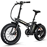 Addmotor Motan Electric Fat Tire 20Inch Bikes 500w 48v Snow Folding...