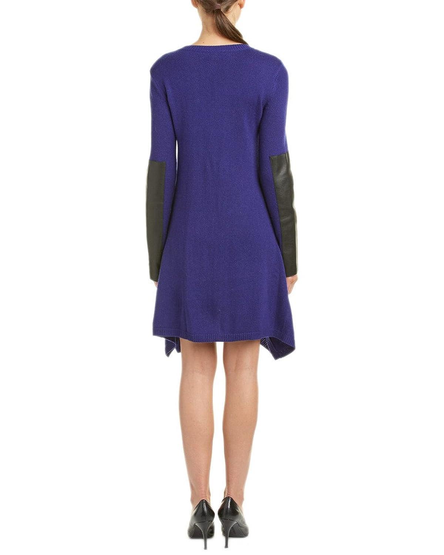 Bcbgmaxazria Womens Dahnya Wool-Blend Sweaterdress, Blue
