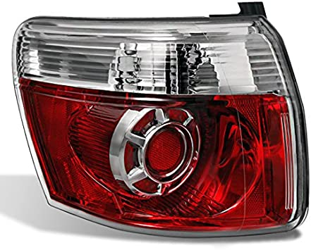 2007-2012  GMC Acadia Replacement Tail Light Rear Brake Lamp Outer Driver Side