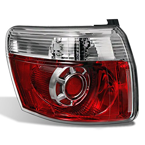 For GMC Acadia SUV Outer Piece Red Rear Brake Tail Light Tail Brake Lamp Driver Left Side LH Replacement ()