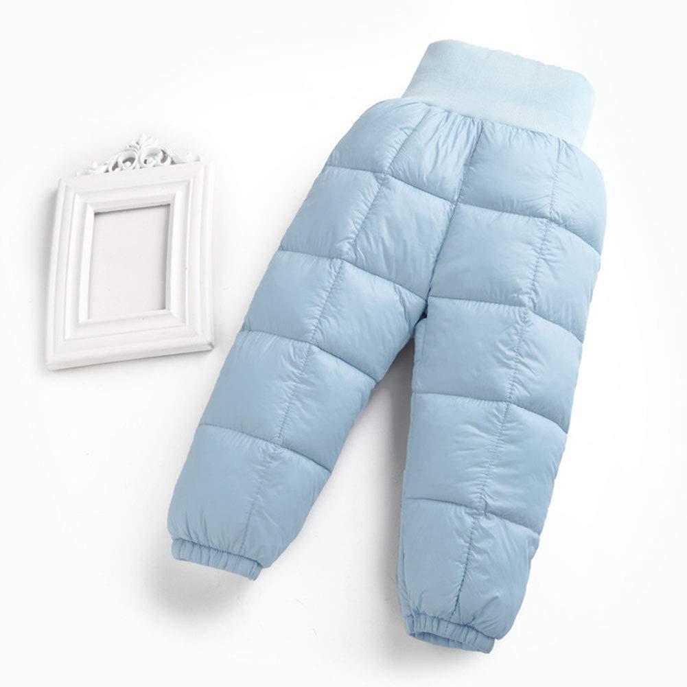 b129c5fe2 LSERVER Unisex Baby Girl Boy Down Cotton Ski Pant Kid Winter Warm ...