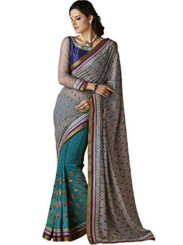 Sarees Bollywood Saree Jay Bahubali Style Party Wear OwnvqdR