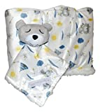 Plush Baby Blanket (30 x 40 inch) with Lovey