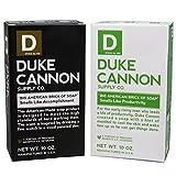 Duke Cannon Brick Of Soap - Big American Productivity & Accomplishment Combo Pack - 2 Bars of Soap