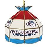 NCAA Gonzaga University Tiffany Gameroom Lamp, 16''