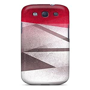 Case Cover Red Grey Combo/ Fashionable Case For Galaxy S3