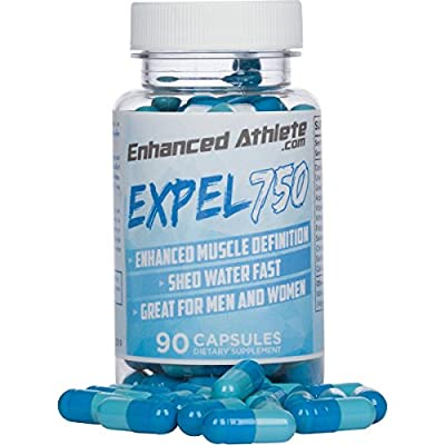 Expel 750 - Maximum Strength Diuretic Supplement - Water Pills to Lose Weight and Reduce Water Retention - Natural Relief from Bloating and Swelling 90 Capsules
