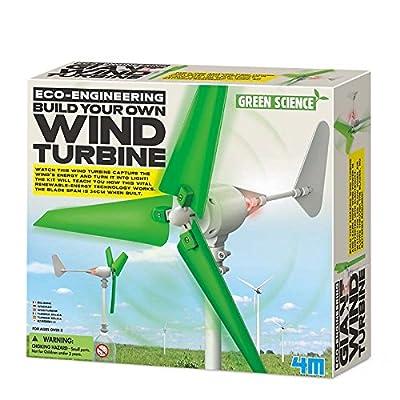 4M 68563 - Jeu De Construction - Eco-Engineering - Construisez Votre Propre Éolienne