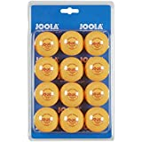 JOOLA 40mm Table Tennis Training Ball 12 Count Set (1-Star) - Orange