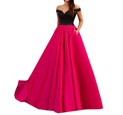d17294944c Special Bridal Women's Off-The-Shoulder Sweetheart Prom Dress A-Line ...